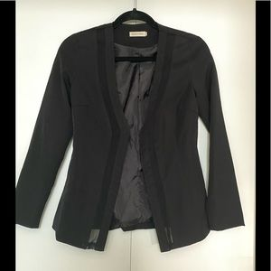 Makers of Dreams  Mesh inset Black Blazer